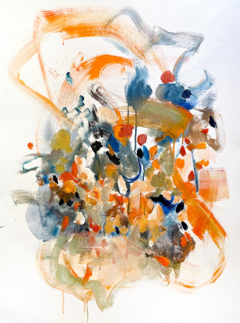 Vicky Barranguet Abstract Painting - Spring Promises II