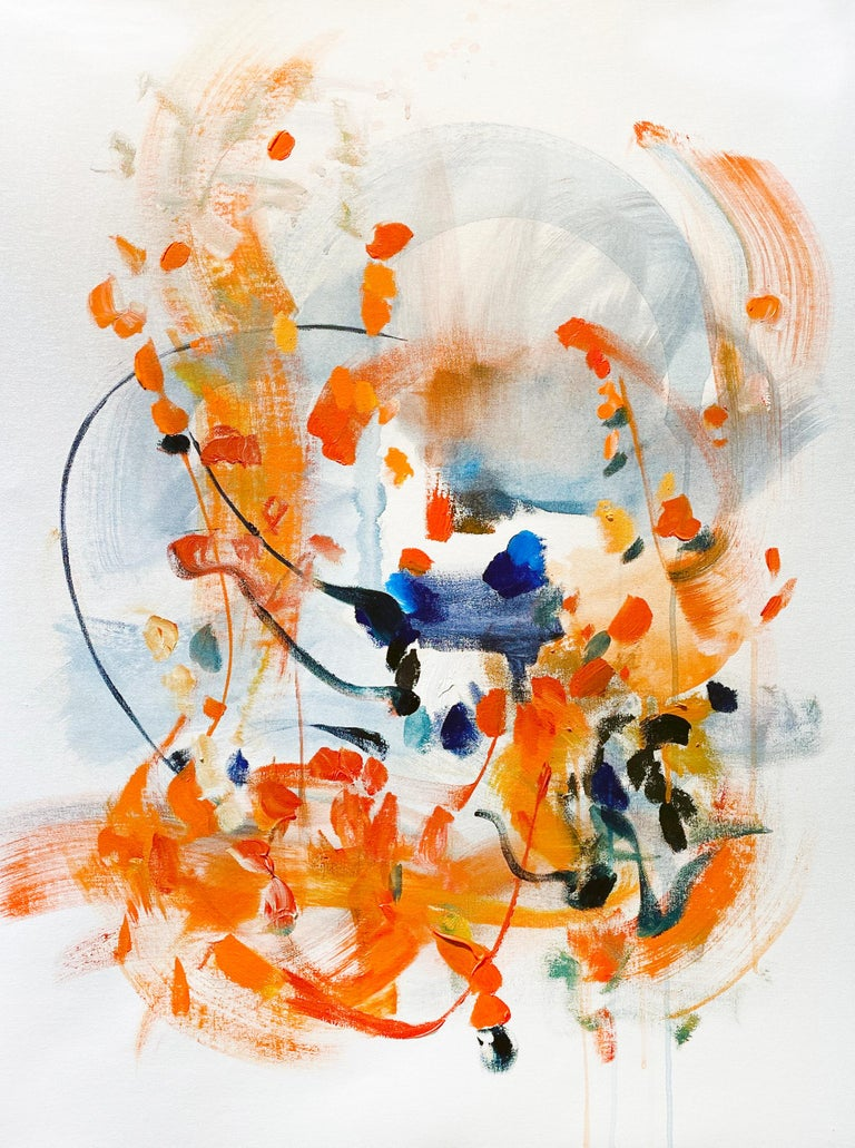Vicky Barranguet Abstract Painting - Spring Promises III