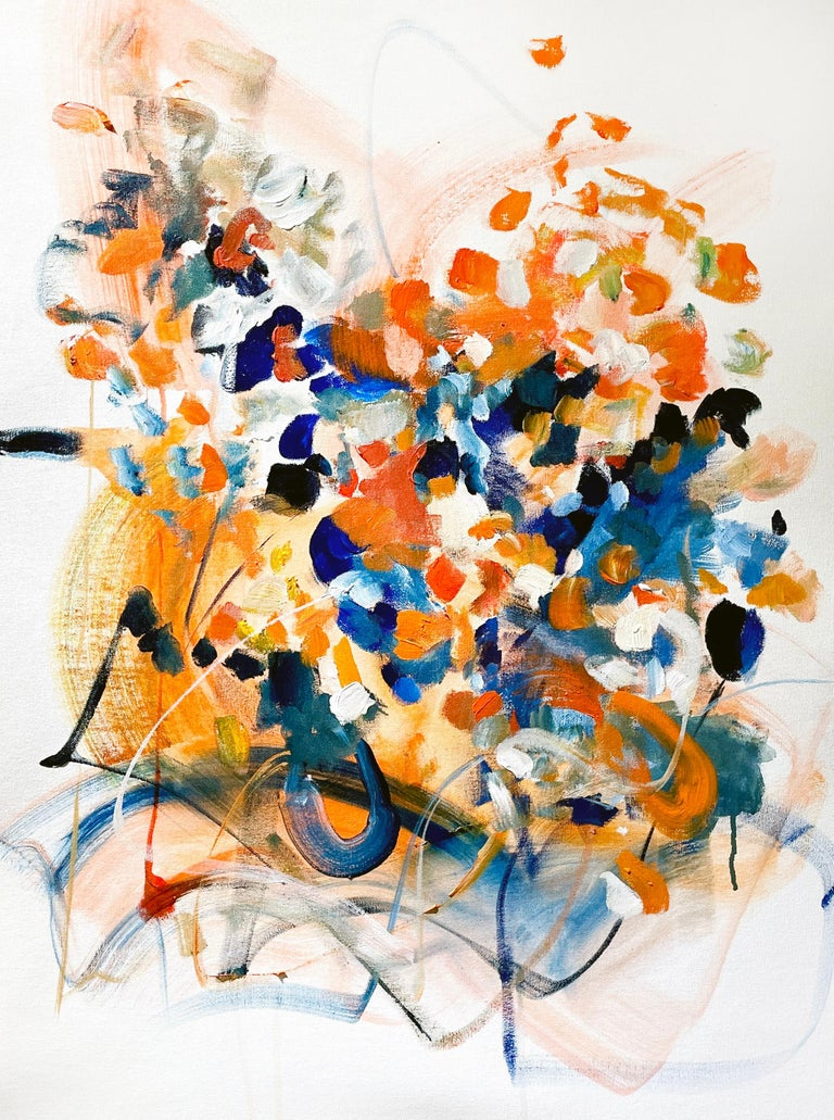 Vicky Barranguet Abstract Painting - Spring Promises IV