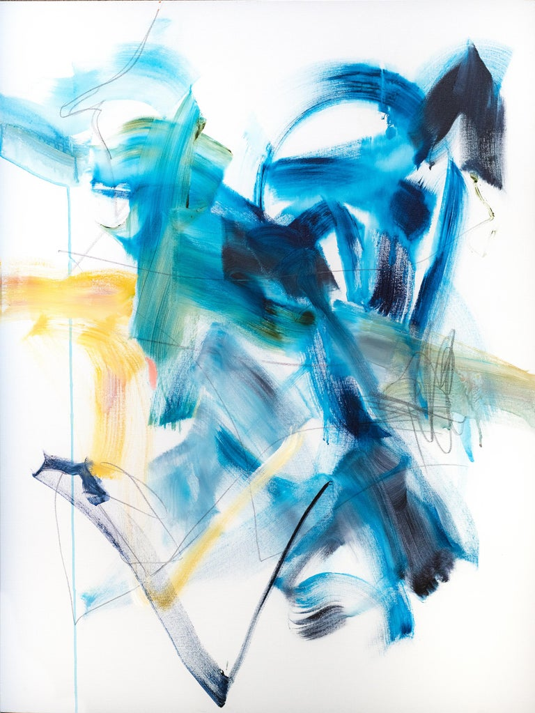 Vicky Barranguet Abstract Painting - Winter is not coming