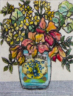 Vicky Oldfield, Endless Summer, Still Life Art, Contemporary Art, Affordable Art