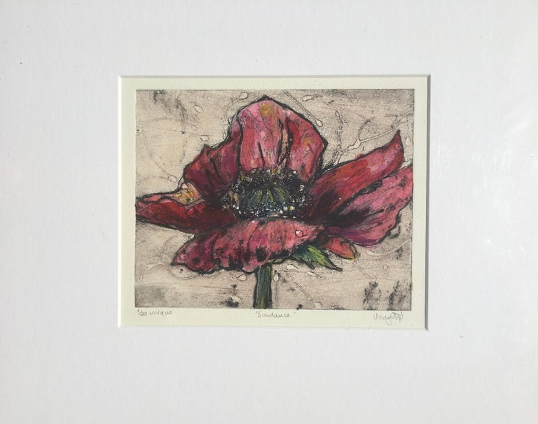 Vicky Oldfield, Sundance, Bright Contemporary Still Life Print, Affordable Art For Sale 2