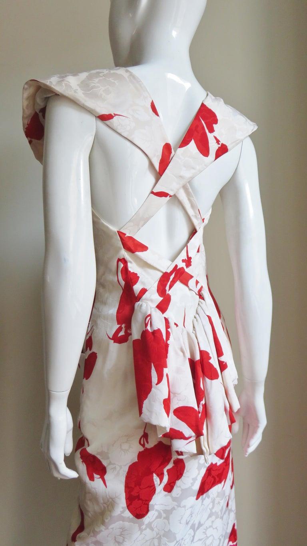 Vicky Tiel Silk Dress For Sale 6