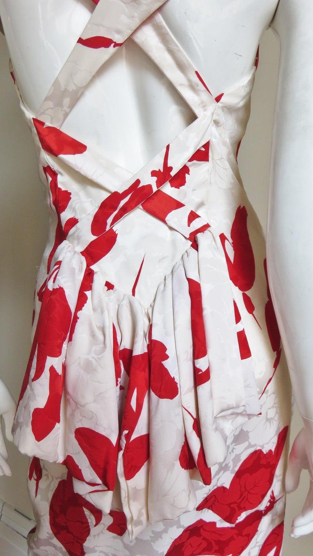 Vicky Tiel Silk Dress For Sale 9
