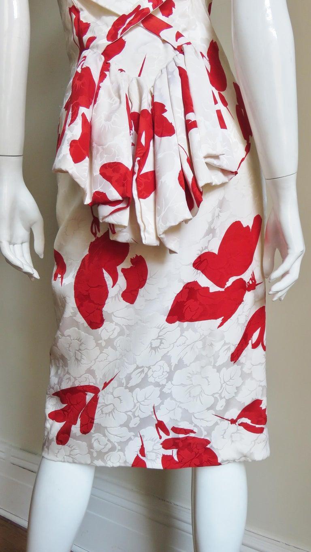 Vicky Tiel Silk Dress For Sale 10