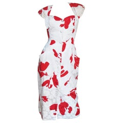 Vicky Tiel Silk Dress
