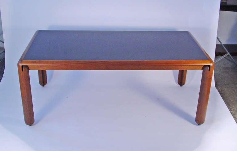 Rectangular dining table by Vico Magistretti for Cassina  Italy 1967 Italian Walnut and laminate Ref: G. Gramigna.
