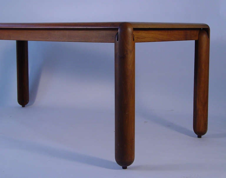 Italian Vico Magistretti 781 Dining Table For Cassina, Italy 1967 For Sale