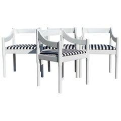 Vico Magistretti Carimate Chairs, Set of 4