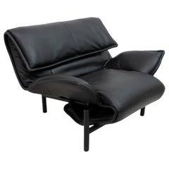 """Vico Magistretti Italian Lounge Chair """"Veranda"""" for Cassina, 1983"""