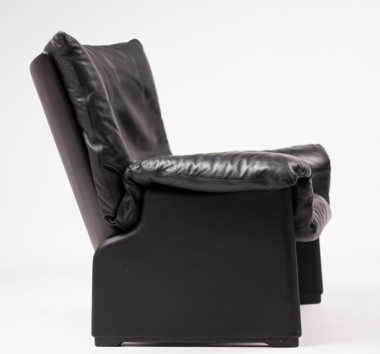 Vico Magistretti Lounge Chair for Cassina In Good Condition For Sale In Dronten, NL