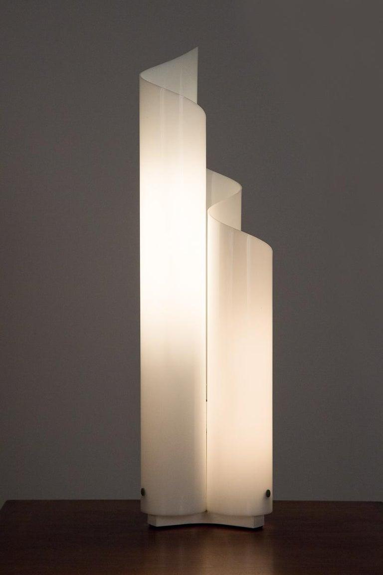 Italian Vico Magistretti Mezzachimera Lamp For Sale