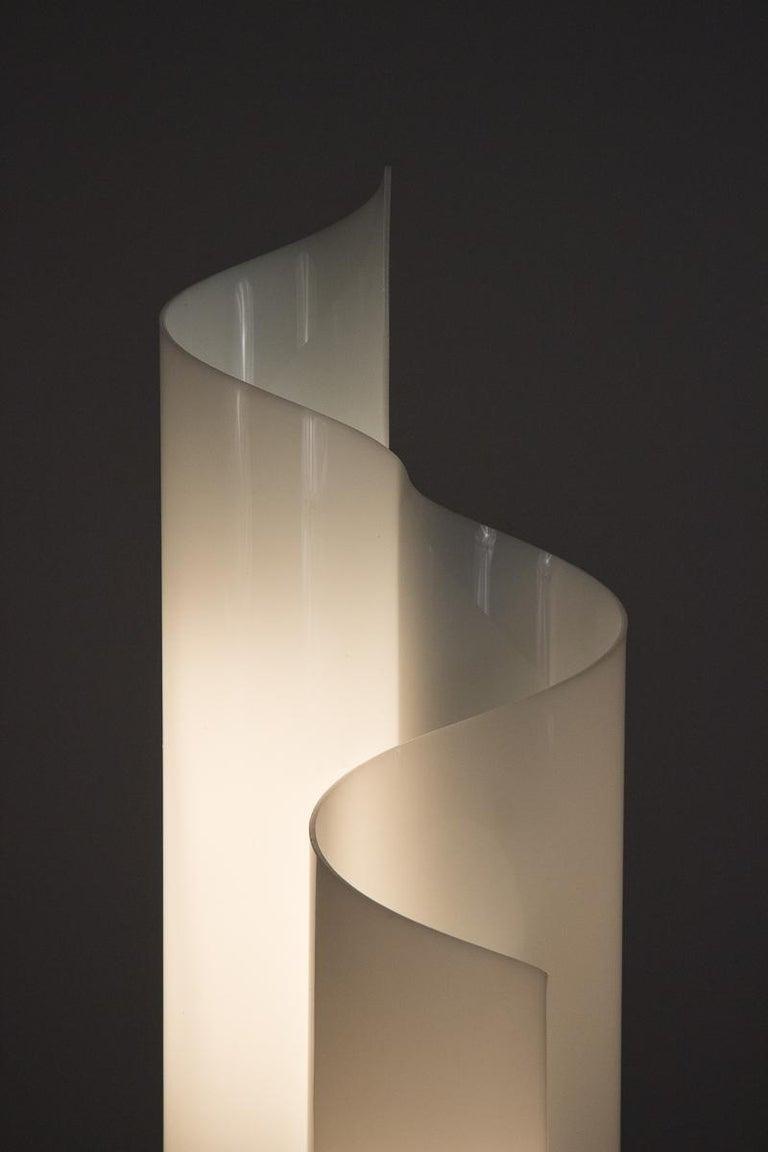 Acrylic Vico Magistretti Mezzachimera Lamp For Sale