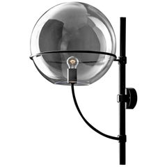 Vico Magistretti Outdoor Wall Lamp 'Lyndon' Medium by Oluce