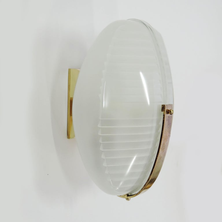 Mid-Century Modern Vico Magistretti pair of Lambda wall lights for Artemide, Italy 1961 For Sale