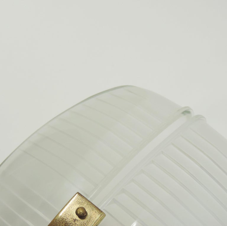 Vico Magistretti pair of Lambda wall lights for Artemide, Italy 1961 In Good Condition For Sale In Milan, IT