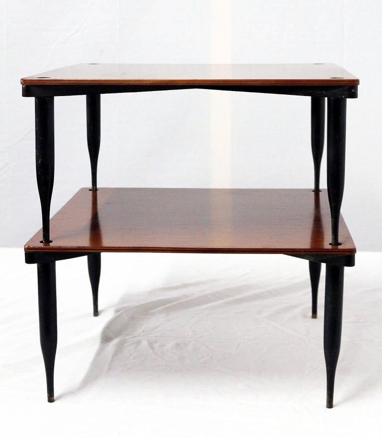 Mid-Century Modern Vico Magistretti Stackable Tables T8 for Azucena, Italy, 1954 For Sale