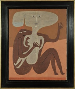 Accouplement d'Éléments by VICTOR BRAUNER - Surrealist oil painting