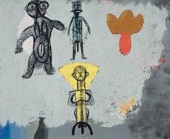 Victor Brauner - La récapitulation de l'amour, surreal, surrealist, painting