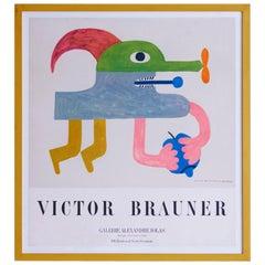 Victor Brauner Galerie Alexandre Iolas Vintage Exhibition Poster, France