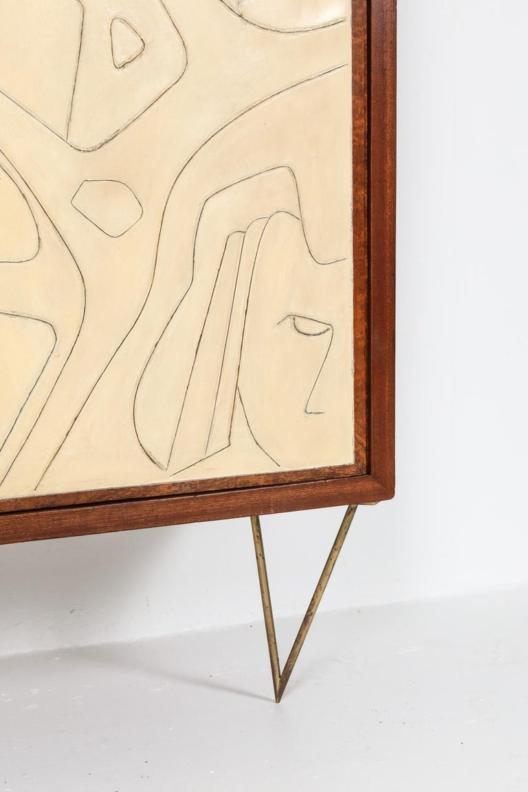 Victor Cerrato One of a Kind Case Piece, 1950s, Italy For Sale 4