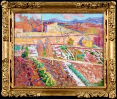 Le Potager de la Sargne - Post-Impressionist Oil, Landscape by Victor Charreton