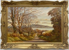 Impressionistic Oil Painting of Scrabo in the Irish Countryside by Welsh Artist