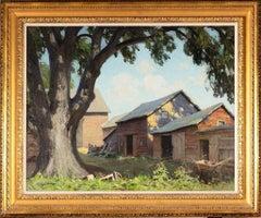 Old Farm Sheds (Spring Shadows)