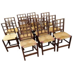 Victor Courtray Set of 12 Chairs