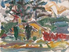 'Old Carmel Village', California Post-Impressionist, Louvre, Paris, LACMA, SFAA