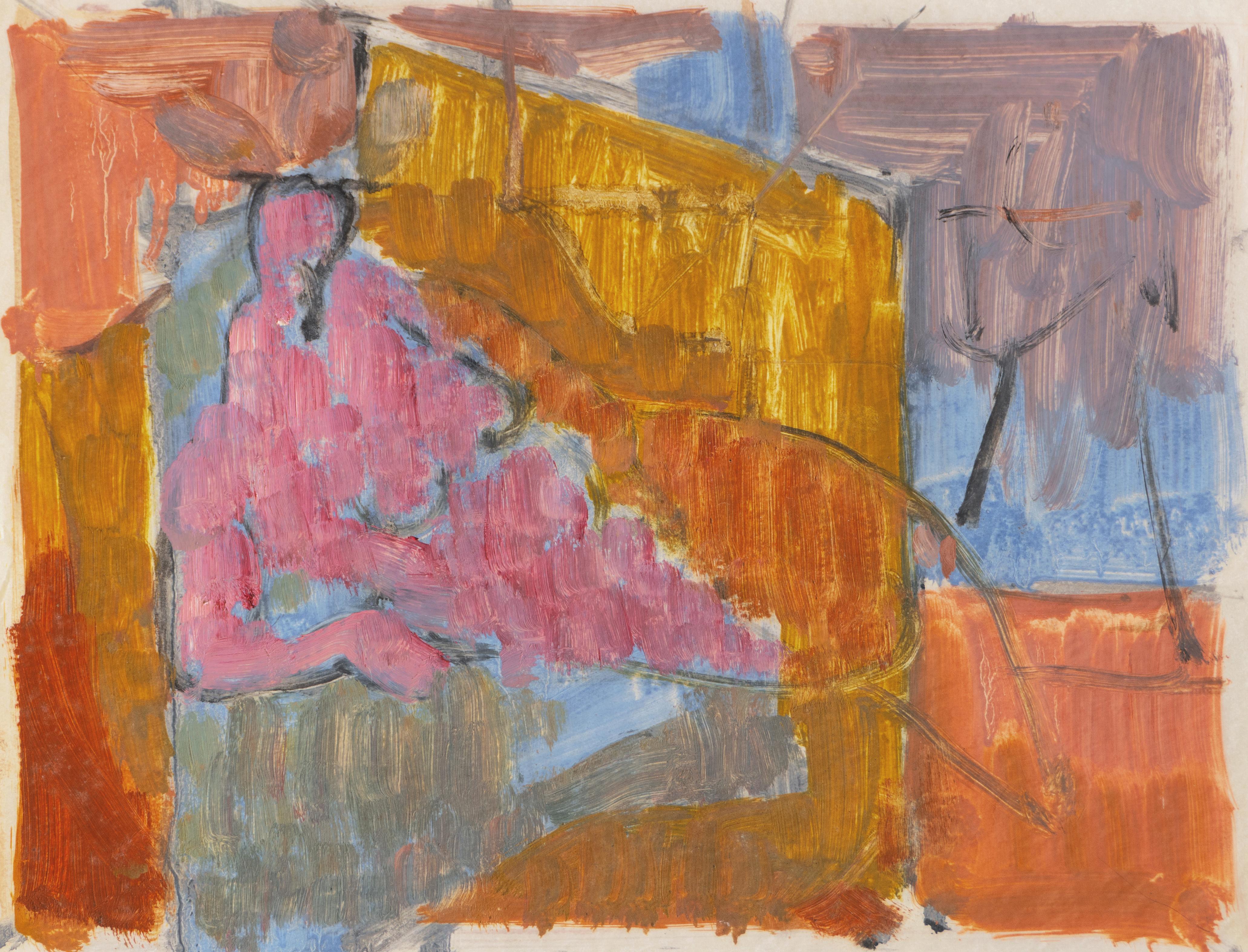 'Reclining Nude', Carmel Artist, Paris, Louvre, Academie Chaumiere, SFAA, LACMA