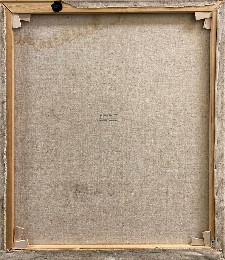 'Seated Nude', Paris, Louvre, Academie Chaumiere, Carmel, California, LACMA, Oil For Sale 2