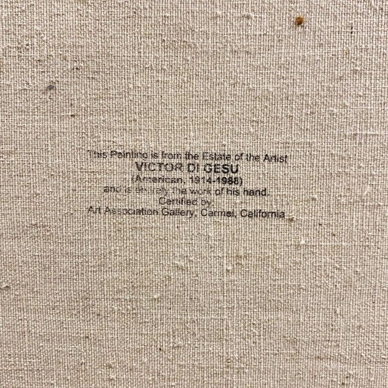 'Seated Nude', Paris, Louvre, Academie Chaumiere, Carmel, California, LACMA, Oil For Sale 3