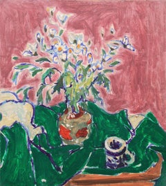 'Still Life of Daisies', Paris, Louvre, Academie Chaumiere, California, LACMA