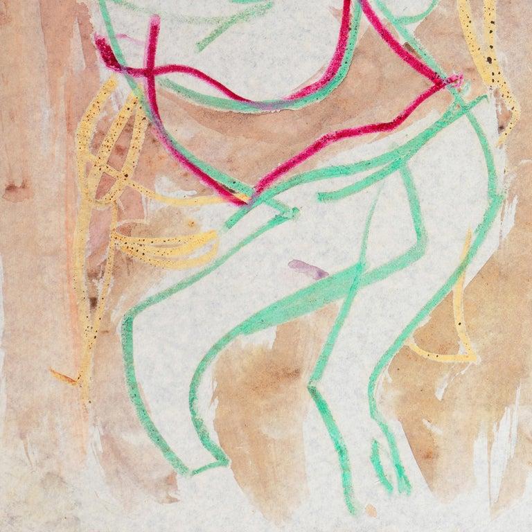 'Woman Seated', Carmel California, Paris, Louvre, Academie Chaumiere, SFAA LACMA - Post-Impressionist Art by Victor Di Gesu
