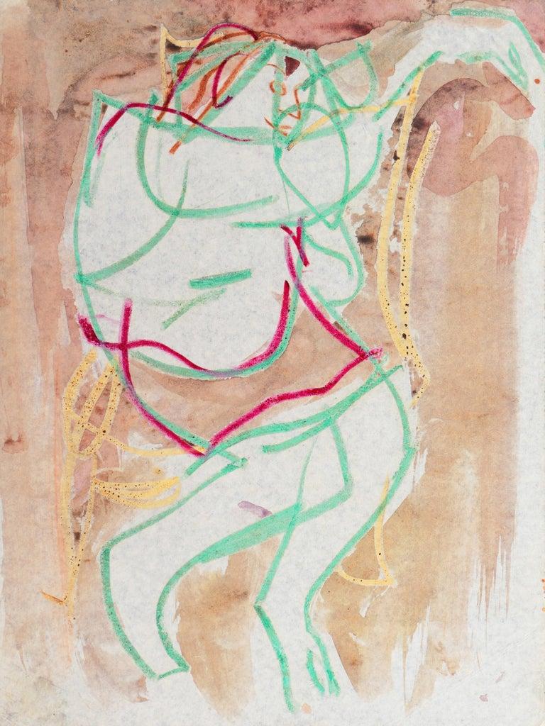 Victor Di Gesu Figurative Art - 'Woman Seated', Carmel California, Paris, Louvre, Academie Chaumiere, SFAA LACMA
