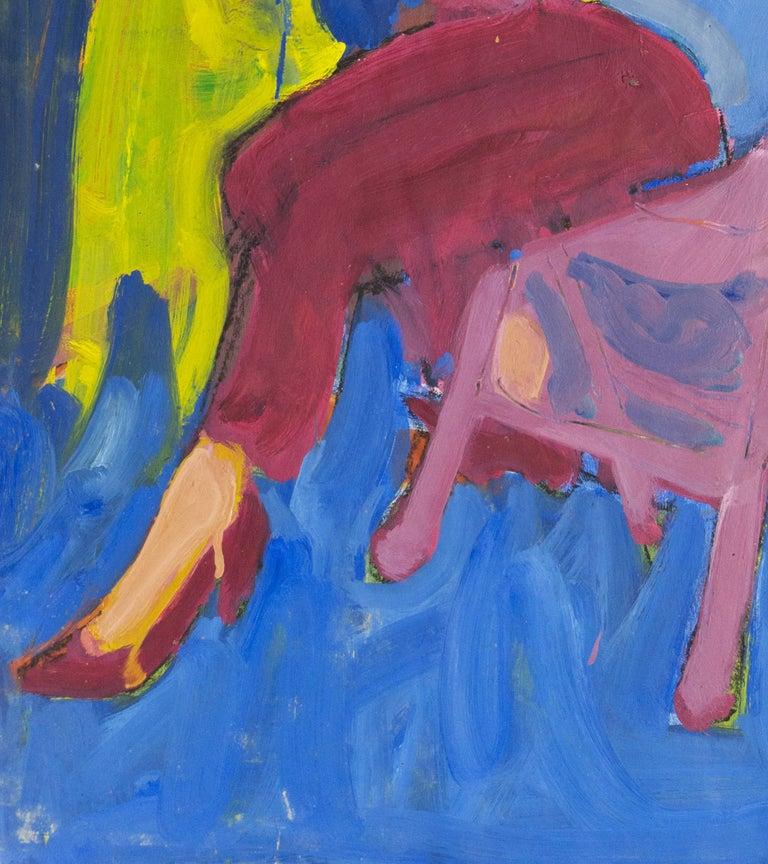California Post-Impressionist 'Woman Seated', Louvre, Académie Chaumière, LACMA For Sale 1