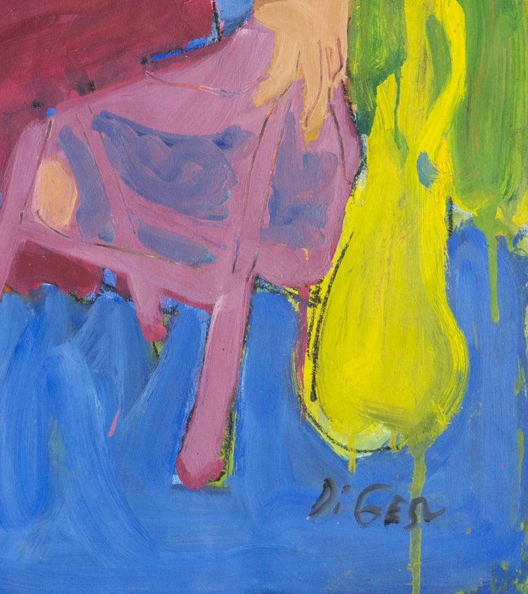 California Post-Impressionist 'Woman Seated', Louvre, Académie Chaumière, LACMA For Sale 2