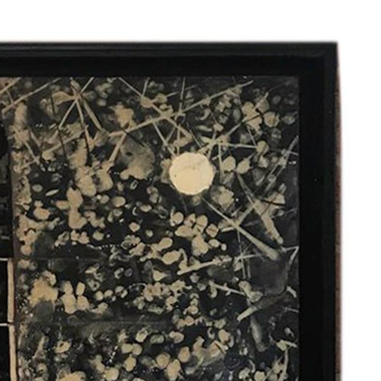 Concha - Abstract Geometric Mixed Media Art by Victor Guadalajara