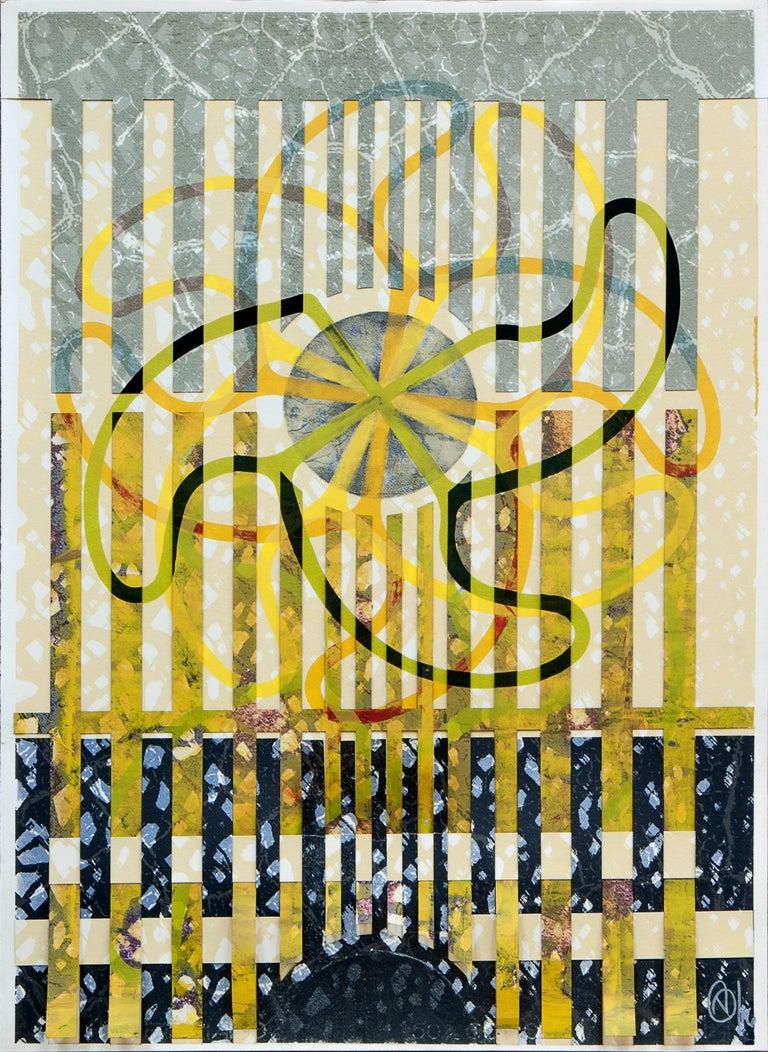 Victor Guadalajara Abstract Print - Variaciones sobre Gajos 1