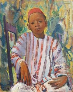 Moroccan Boy   (Post-Impressionist, Orientalism, North African, Romanticism)