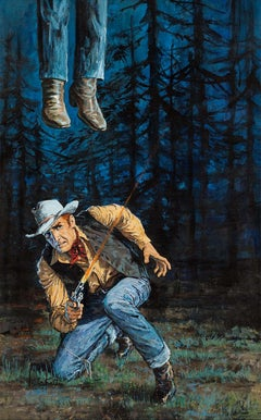 Cowboy  Hanging, Killer's Trail Illustration