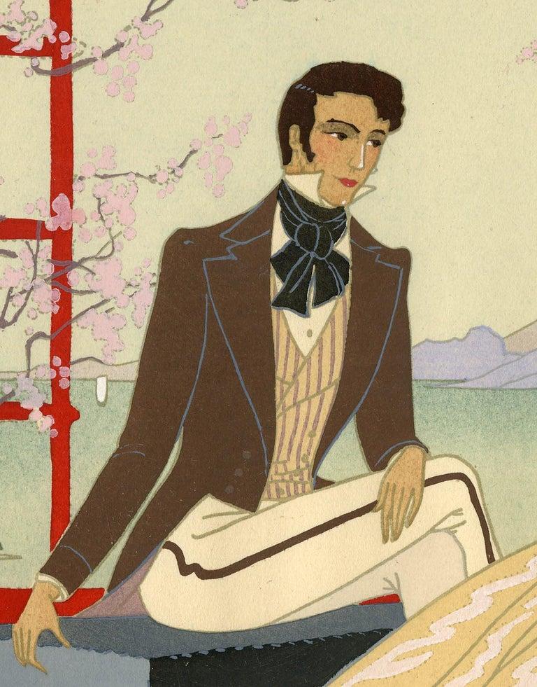Au Japon - Print by Victor Max Ninon