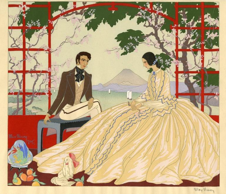 Victor Max Ninon Figurative Print - Au Japon