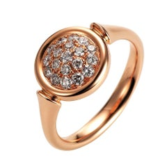 Victor Mayer Candy Ring 18k Gold with Diamonds