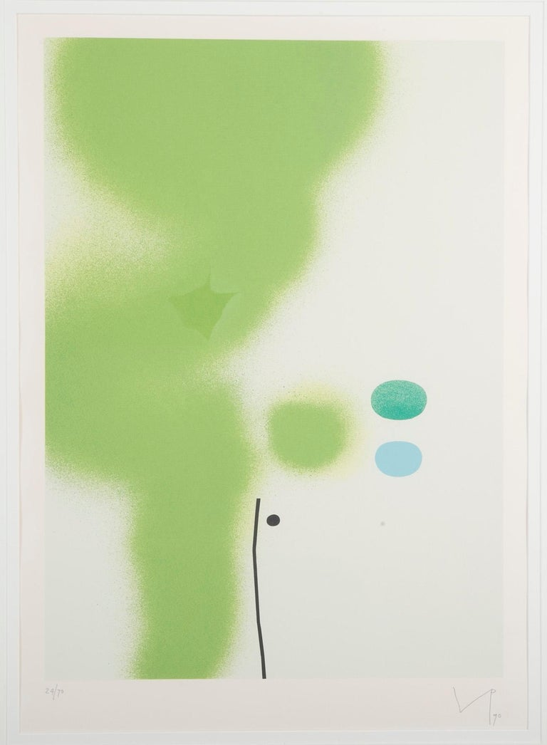 Modern Victor Pasmore Screenprint