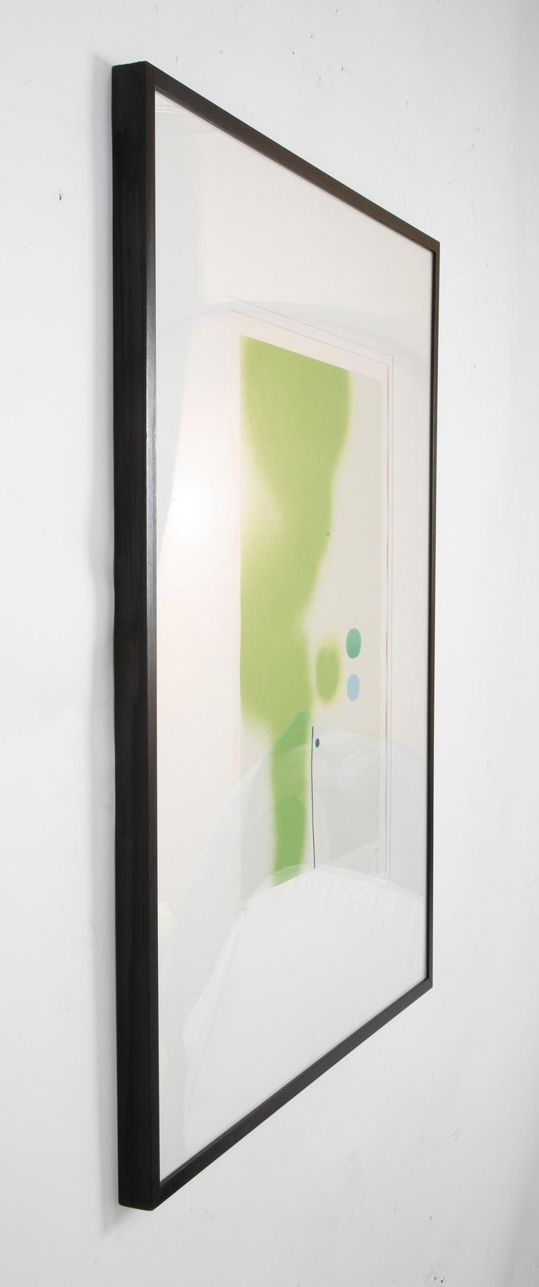 English Victor Pasmore Screenprint