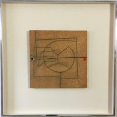 Victor Pasmore, Linear Development in Two Movements, incised board, steel frame