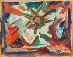 'Abstract, Coral and Ivory', New York School Abstraction, Whitney Museum, WPA