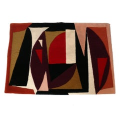 Victor Vasarely Modernist Tapestry, circa 1950s